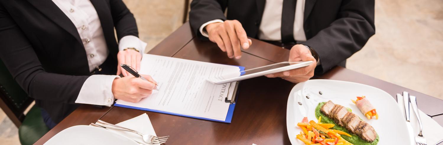 Course Image COMMUNIQUER - Le repas d'affaires